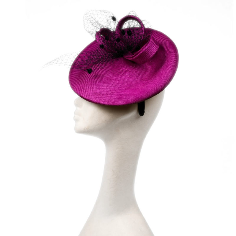 Emma saucer hat by wendy louise designs