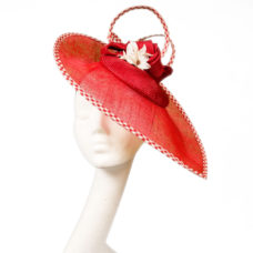 retro disc hat by wendy louise designs