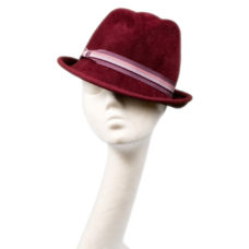 classic trilby hat by wendy louise designs