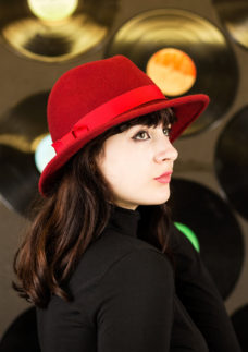 fedora hat by wendy louise designs
