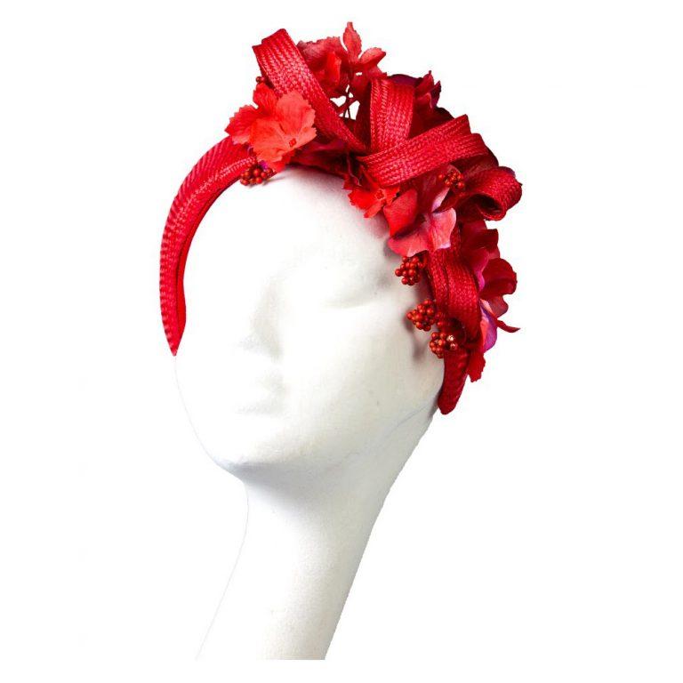 Ruby Floral Crown | Wendy Louise Designs