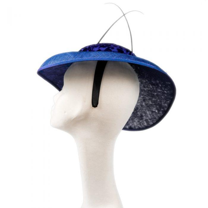 Victoria Side Tilt Oval Hat | Wendy Louise Designs