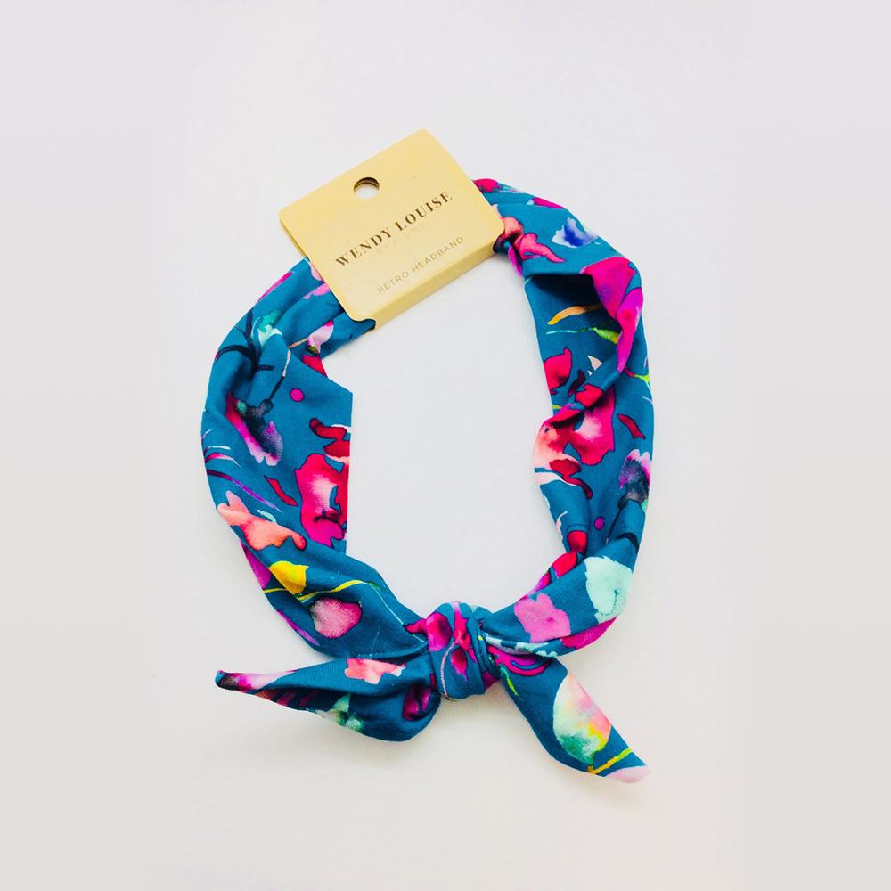Aqua Floral | Wendy Louise Designs