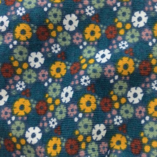 Daisy Green Pattern | Wendy Louise Designs