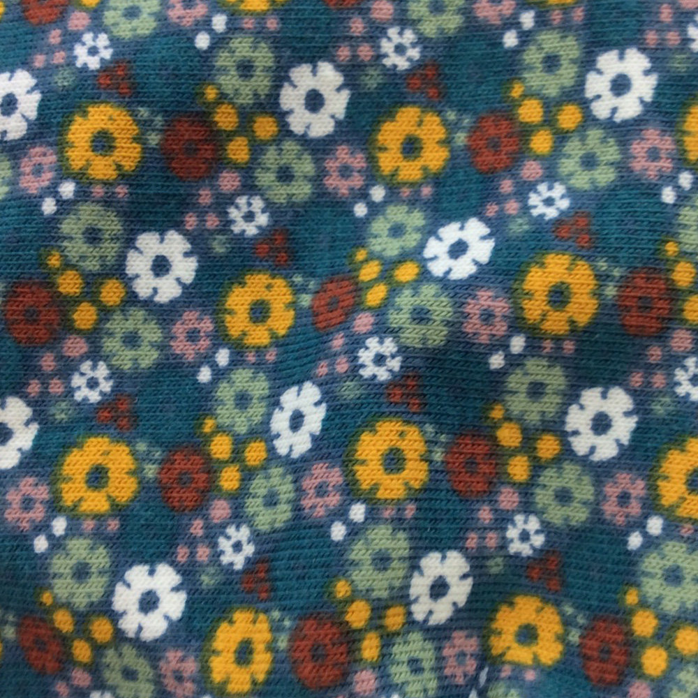 Daisy Green Pattern   Wendy Louise Designs