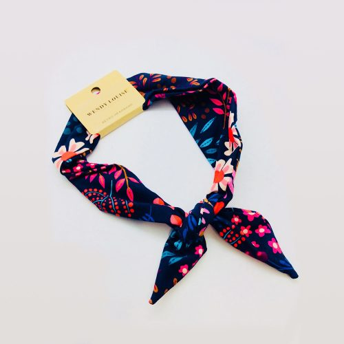 Floral Navy   Wendy Louise Designs
