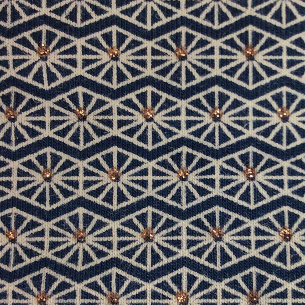 Pinwheel Blue Pattern | Wendy Louise Designs