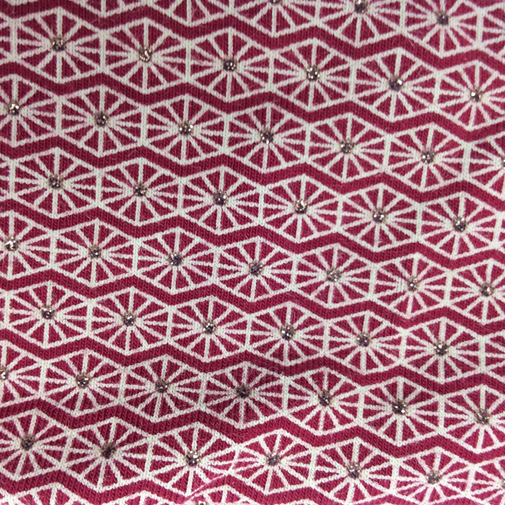 Pinwheel Burgundy Pattern | Wendy Louise Designs