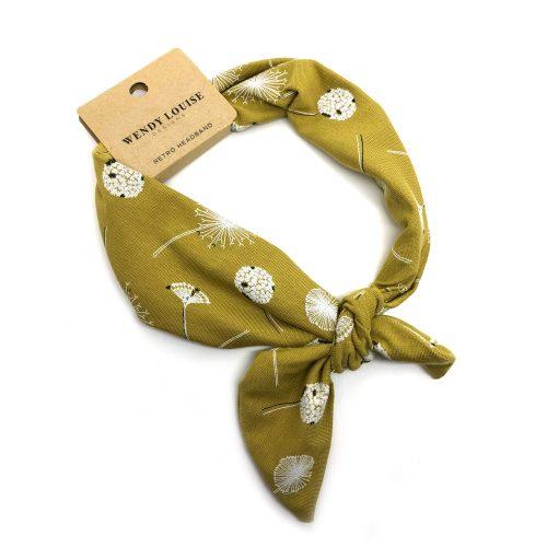 Mustard Dandelion   Wendy Louise Designs