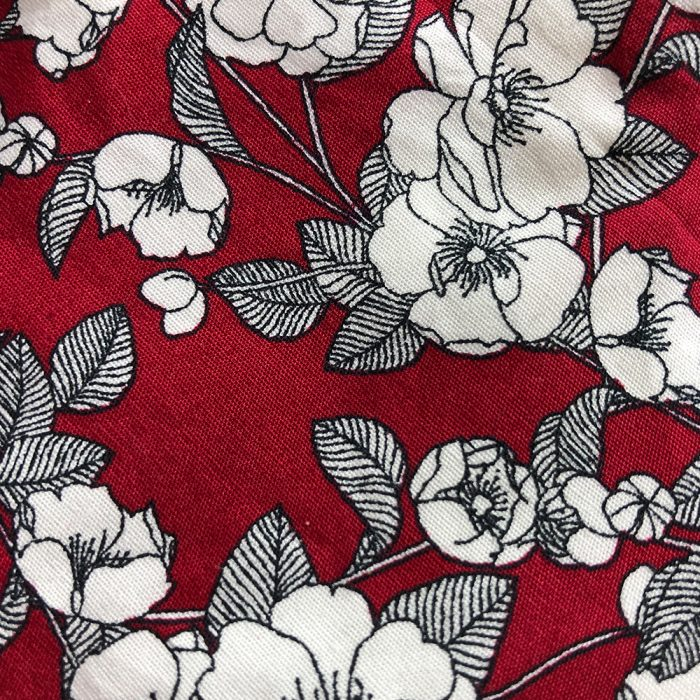 Burgundy Floral Pattern | Wendy Louise Designs