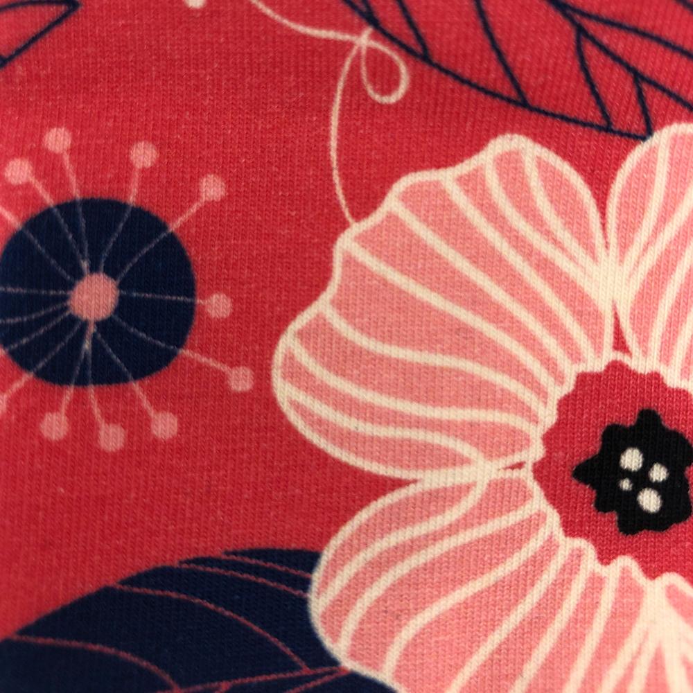 Coral Navy Pattern | Wendy Louise Designs