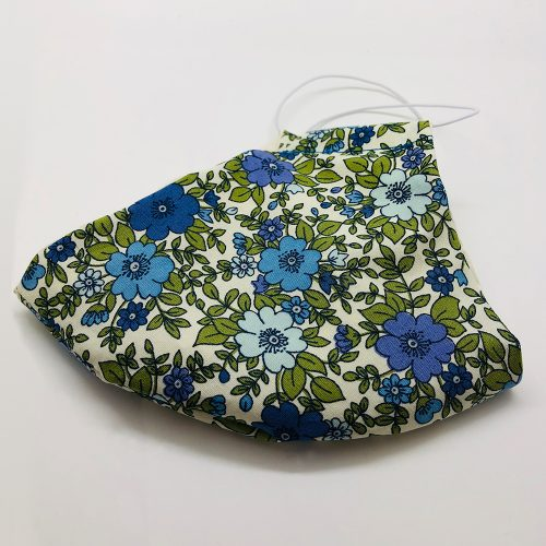 Green Blue Floral Folded | Wendy Louise Designs