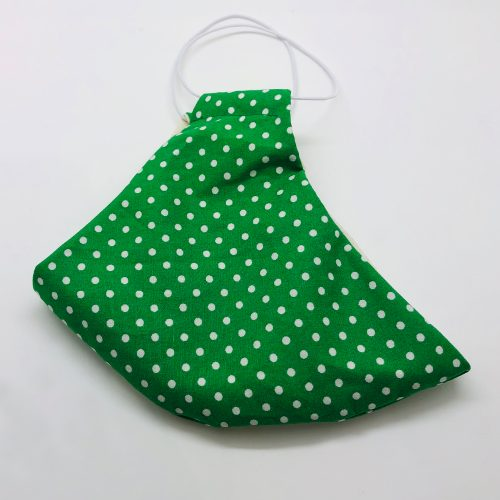 Green Spot Folded | Wendy Louise Designs
