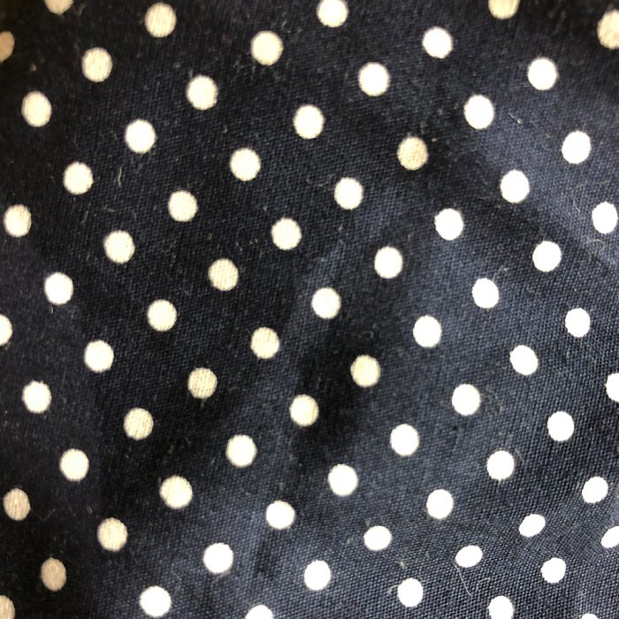 Navy Spot Pattern | Wendy Louise Designs