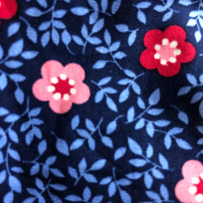 Red Flower Pattern | Wendy Louise Designs