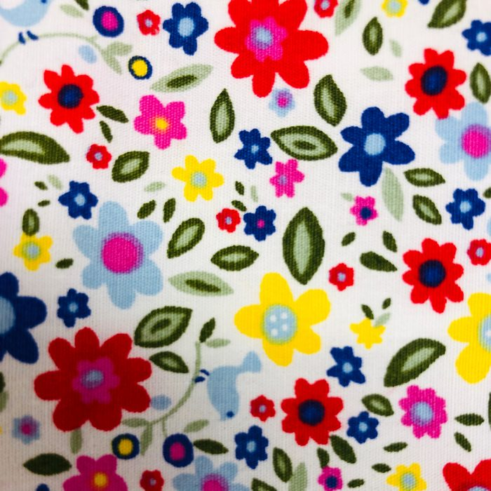 Bright Floral-Pattern | Wendy Louise Designs