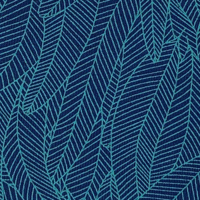 Blue Leaf Print - Pattern   Wendy Louise Designs