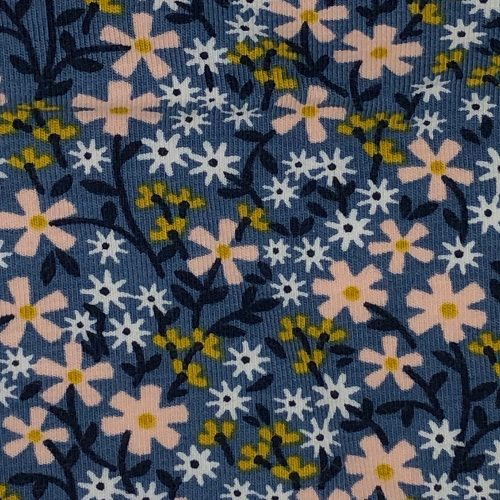 Ditsy Floral Blues - Pattern | Wendy Louise Designs