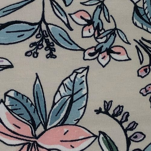 Floral Grey - Pattern | Wendy Louise Designs
