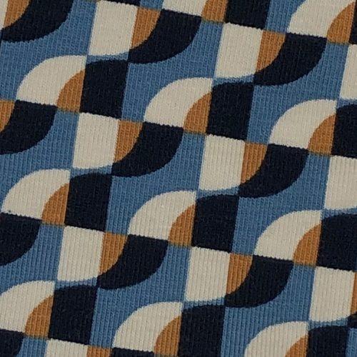 Geo Print Blues - Pattern | Wendy Louise Designs