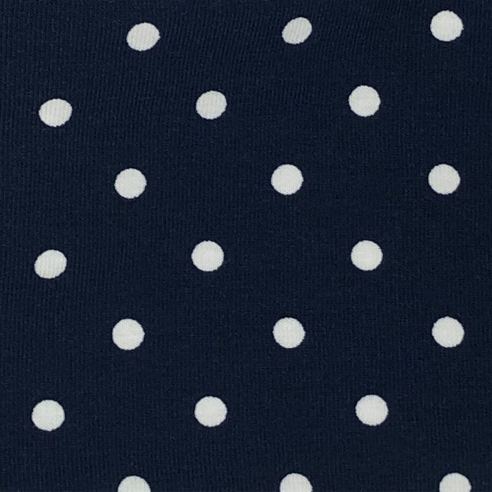 Navy Spot - Pattern | Wendy Louise Designs