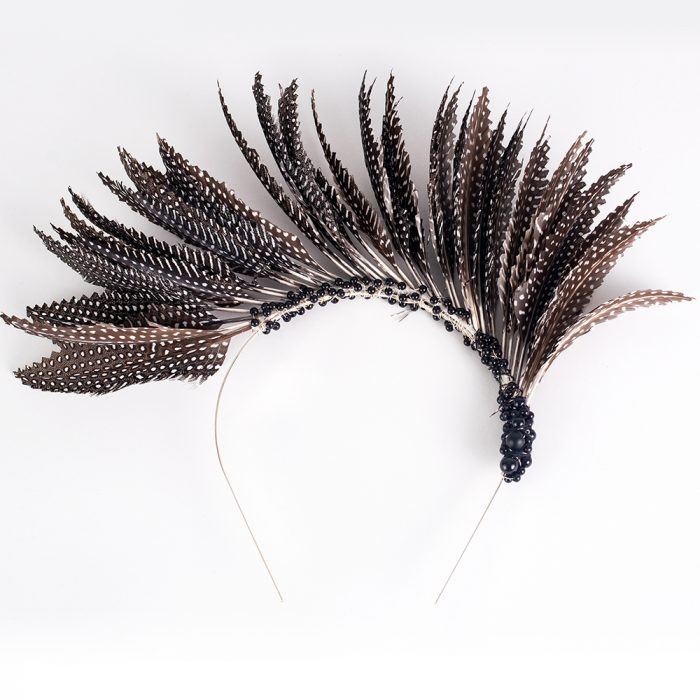 Feather Crown - Brown | Wendy Louise Designs