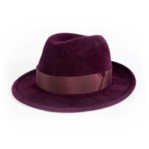 Fedora Deep Berry | Wendy Louise Designs