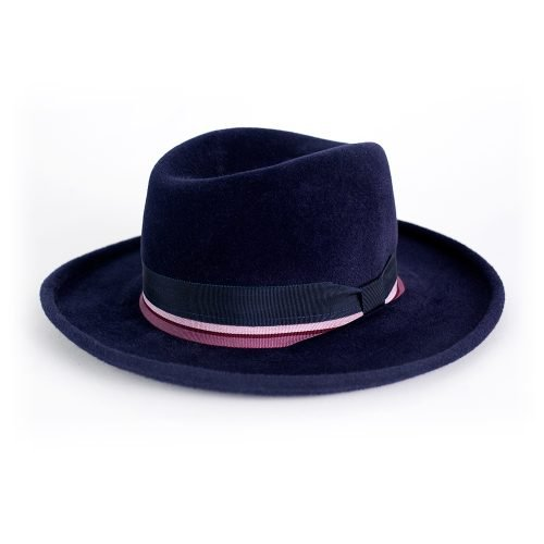 Homburg - Navy | Wendy Louise Designs