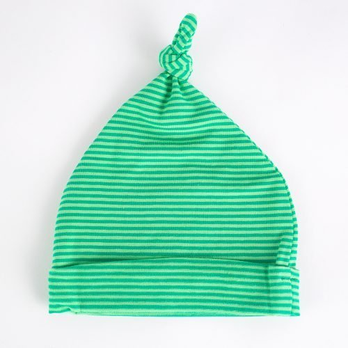 Jersey Baby Hats - Green | Wendy Louise Designs