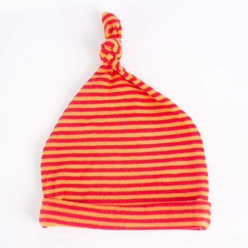 Jersey Baby Hats - Orange | Wendy Louise Designs