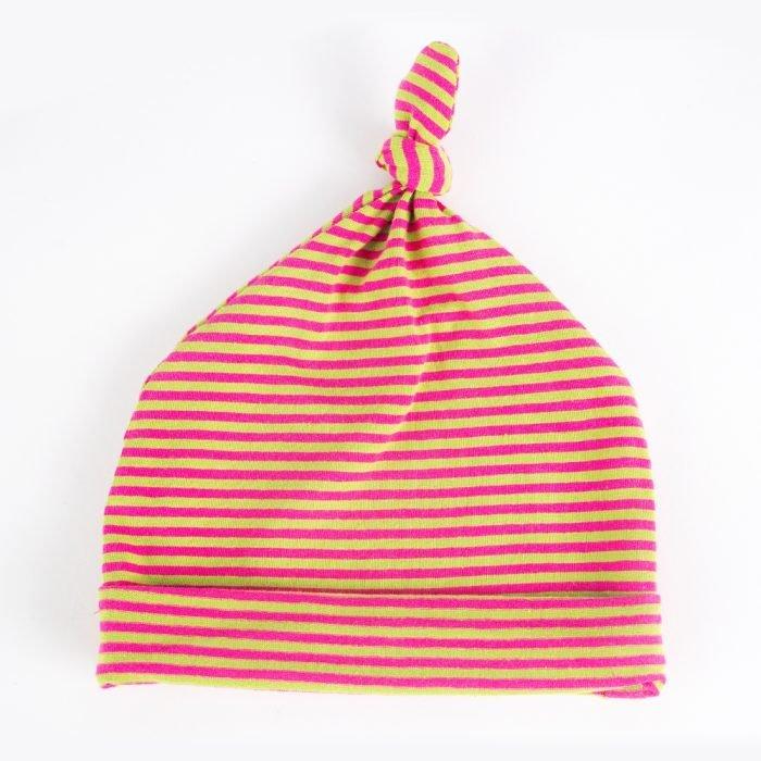 Jersey Baby Hats - Orange & Green | Wendy Louise Designs