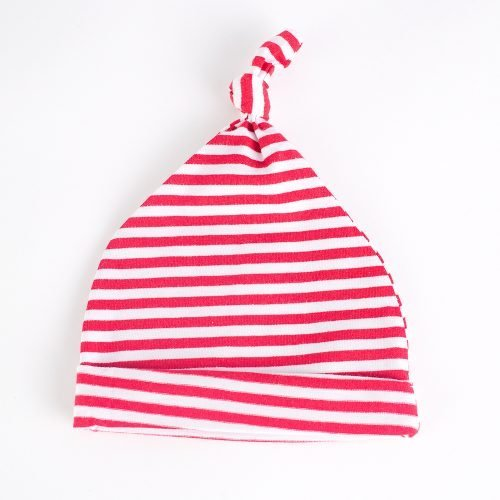 Jersey Baby Hats - Red & White | Wendy Louise Designs