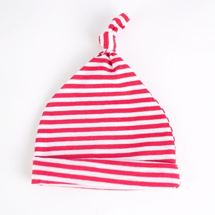Jersey Baby Hats - Red & White   Wendy Louise Designs