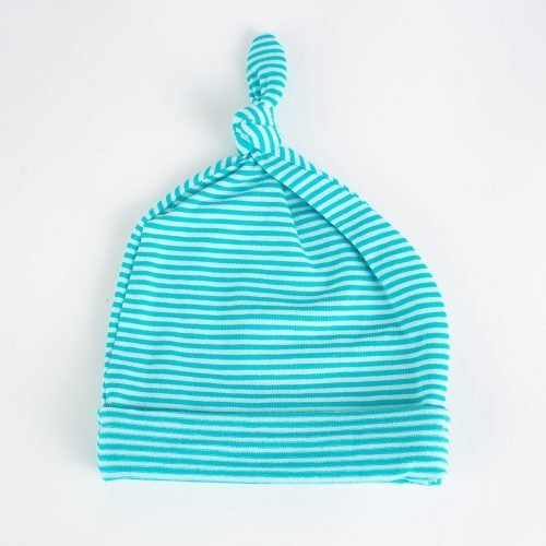 Jersey Baby Hats - Turquoise | Wendy Louise Designs