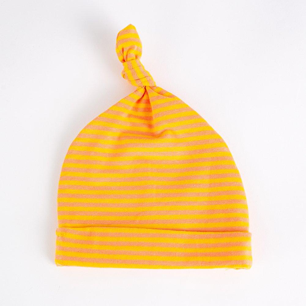 Jersey Baby Hats - Yellow & Orange   Wendy Louise Designs