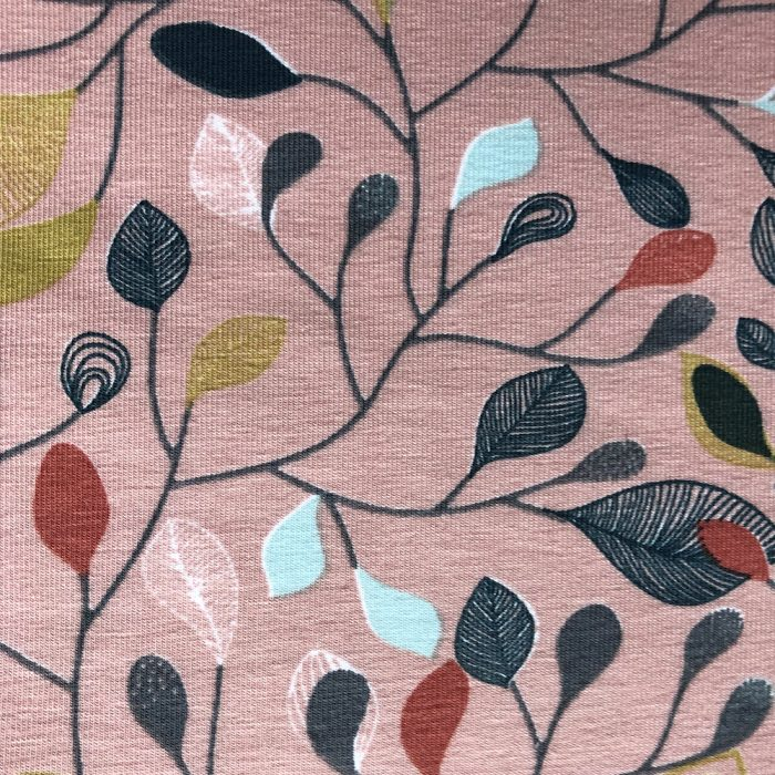 Leaves Pink - Pattern | Wendy Louise Designs