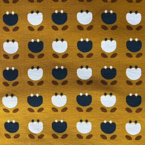 Snowdrops Mustard - Pattern | Wendy Louise Designs