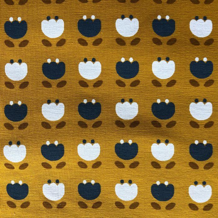 Snowdrops Mustard - Pattern   Wendy Louise Designs