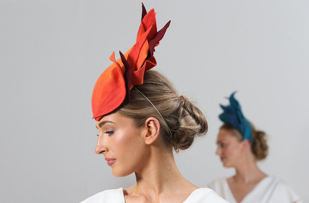 CIFD Fashion Show 2021 02 | Wendy Louise Designs | Millinery