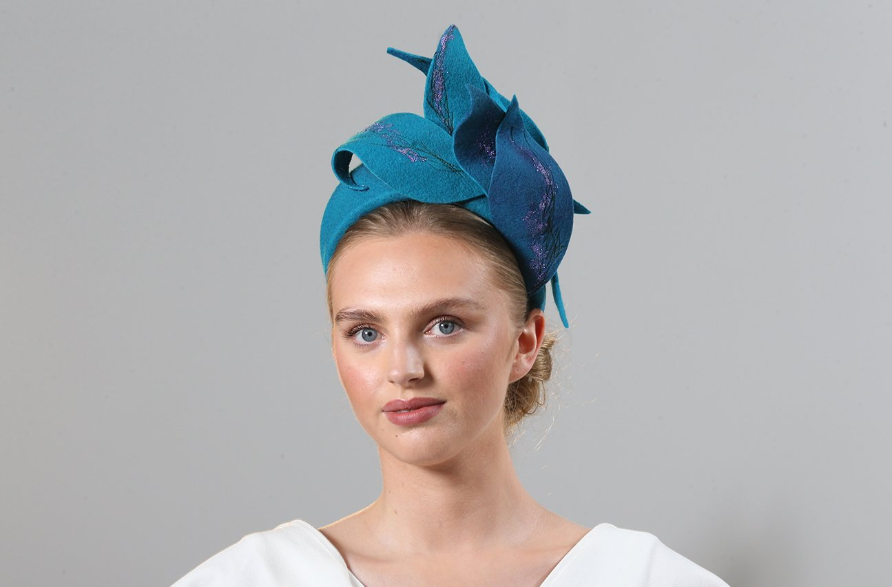 CIFD Fashion Show 2021 03 | Wendy Louise Designs | Millinery