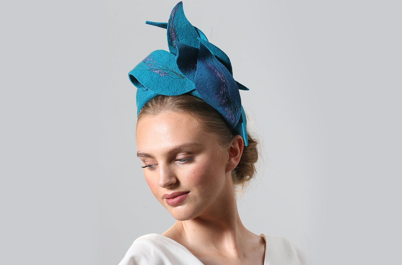 CIFD Fashion Show 2021 04 | Wendy Louise Designs | Millinery